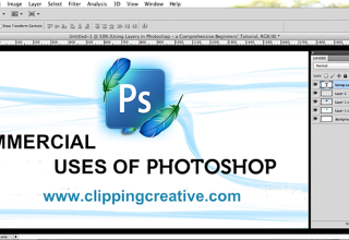 The Commercial uses of Photoshop